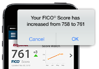 Your FICO Score has...